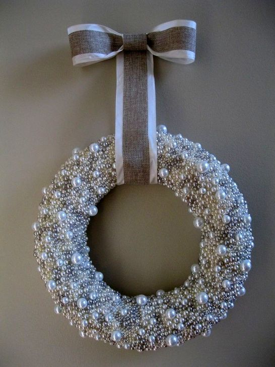 Excellent Christmas Wearth Decoration For Your Door 13