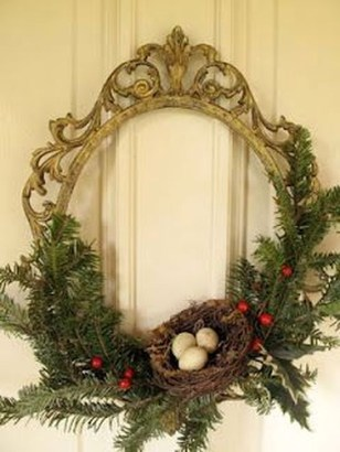 Excellent Christmas Wearth Decoration For Your Door 27