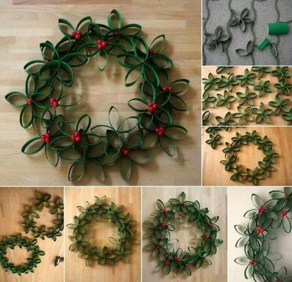 Excellent Christmas Wearth Decoration For Your Door 38