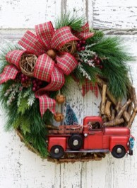 Excellent Christmas Wearth Decoration For Your Door 40