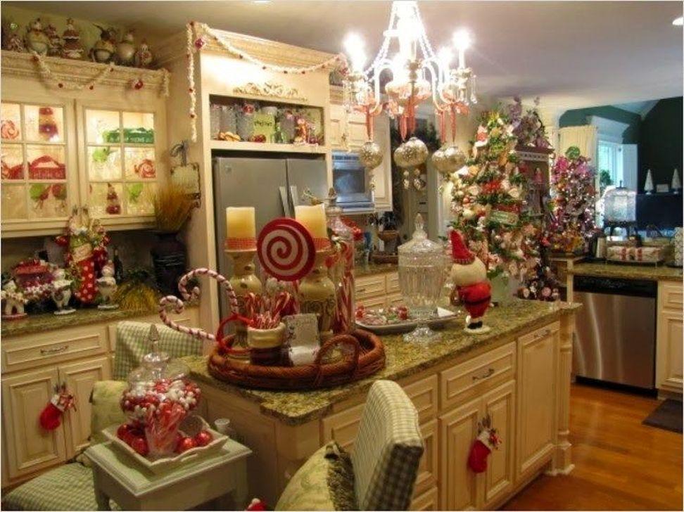 51 Fabulous Kitchen Christmas Decoration Ideas Homystyle