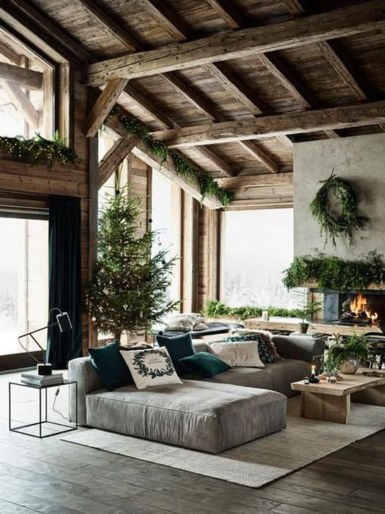 Inspiring Christmas Decoration Ideas For Your Living Room 07