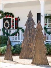 Inspiring Wooden Winter Decoration Ideas 14