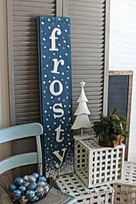 Inspiring Wooden Winter Decoration Ideas 22