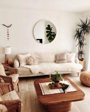 Lovely Neutral Decoration Ideas For Your Living Room 09