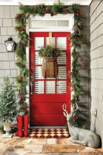 Rustic Farmhouse Christmas Decoration Ideas 02