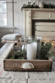 Rustic Farmhouse Christmas Decoration Ideas 32