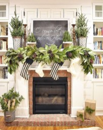 Smart Fireplace Christmas Decoration Ideas 10