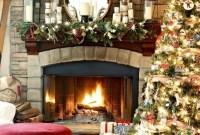 Smart Fireplace Christmas Decoration Ideas 39