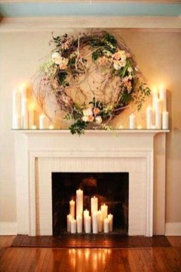 Smart Fireplace Christmas Decoration Ideas 49