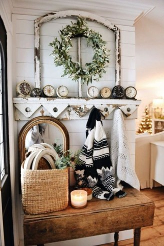 Stunning Shabby Chic Christmas Decoration Ideas 07