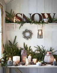 Stunning Shabby Chic Christmas Decoration Ideas 12