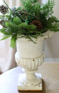 Stunning Shabby Chic Christmas Decoration Ideas 33