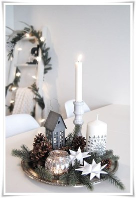 Wonderful Scandinavian Christmas Decoration Ideas 56