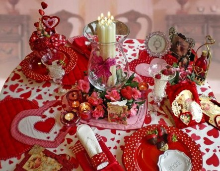 Beautiful Valentines Day Table Decoration Ideeas 17