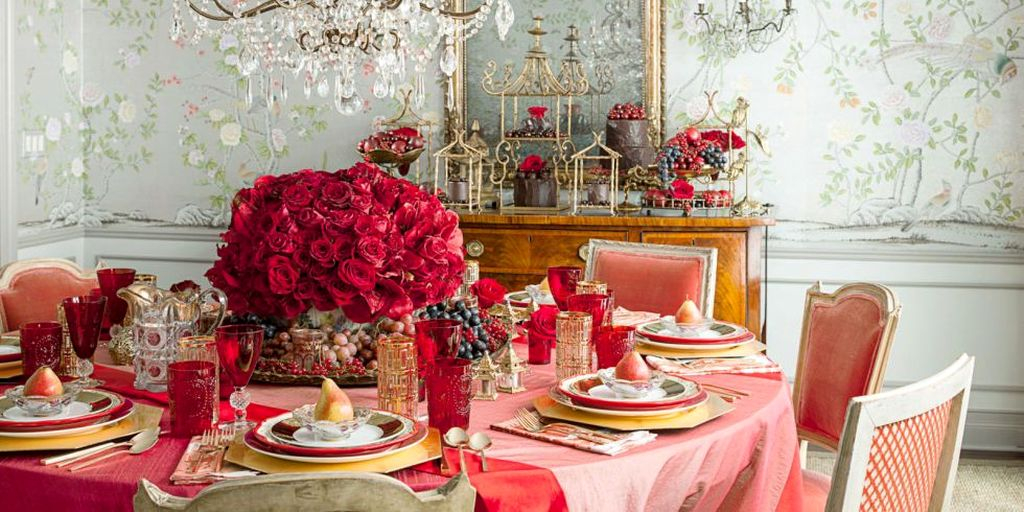 Beautiful Valentines Day Table Decoration Ideeas 19