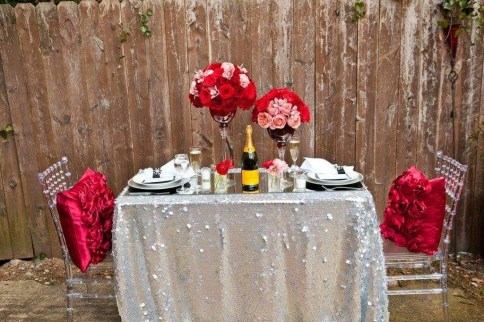 Beautiful Valentines Day Table Decoration Ideeas 29