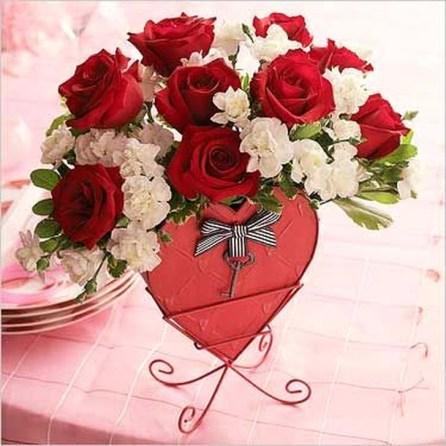 Beautiful Valentines Day Table Decoration Ideeas 38