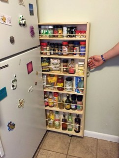 Best DIY Kitchen Storage Ideas For More Space In The Kitchen 51