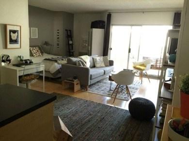 Brilliant Studio Apartment Decor Ideas On A Budget 17
