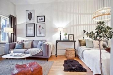Brilliant Studio Apartment Decor Ideas On A Budget 22