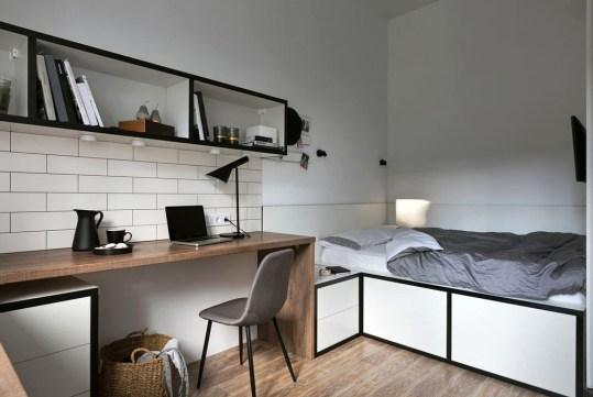 Brilliant Studio Apartment Decor Ideas On A Budget 34