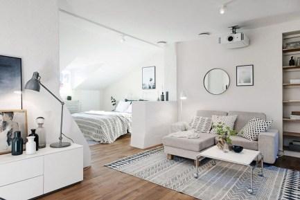 Brilliant Studio Apartment Decor Ideas On A Budget 39