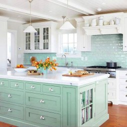 Cool Kitchen Island Design Ideas 06