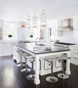 Cool Kitchen Island Design Ideas 16