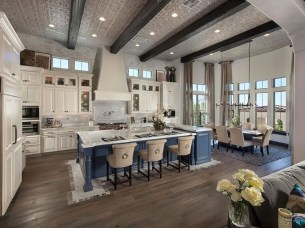 Cool Kitchen Island Design Ideas 25