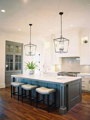 Cool Kitchen Island Design Ideas 32