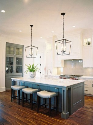 Cool Kitchen Island Design Ideas 32