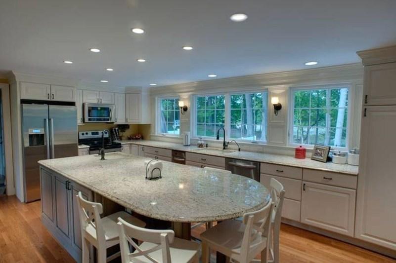 Cool Kitchen Island Design Ideas 37