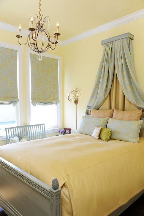 Delightful Yellow Bedroom Decoration And Design Ideas 09