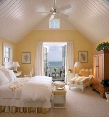 Delightful Yellow Bedroom Decoration And Design Ideas 41