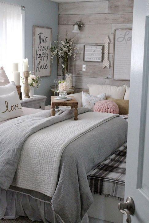 Elegant Small Master Bedroom Inspiration On A Budget 18