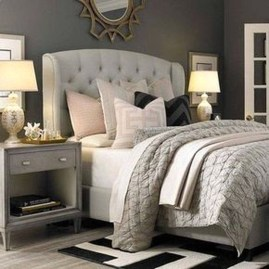 Elegant Small Master Bedroom Inspiration On A Budget 31