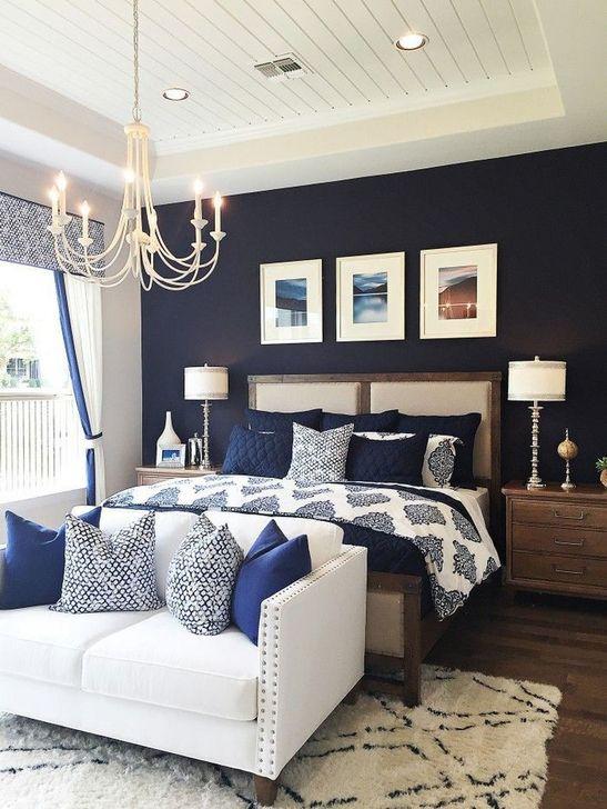 Elegant Small Master Bedroom Inspiration On A Budget 39