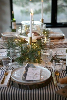 Extraordinary Winter Table Decoration You Can Make 17