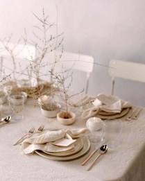 Extraordinary Winter Table Decoration You Can Make 30