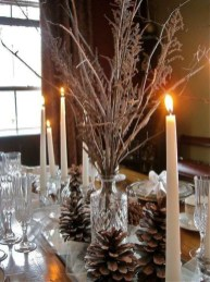 Extraordinary Winter Table Decoration You Can Make 40