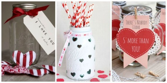 Fabulous Valentines Day Mason Jar Decor Ideas 35