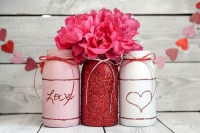 Fabulous Valentines Day Mason Jar Decor Ideas 54