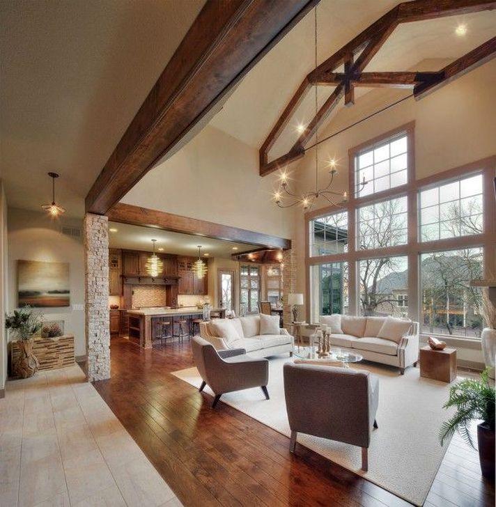 Gorgeous Winter Family Room Design Ideas 14