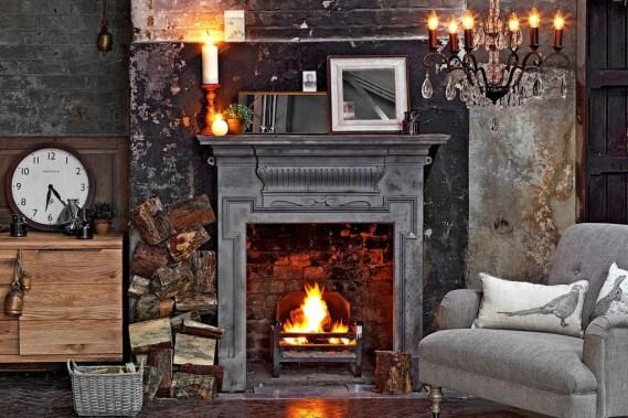 Gorgeous Winter Family Room Design Ideas 25
