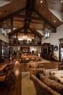 Gorgeous Winter Family Room Design Ideas 28