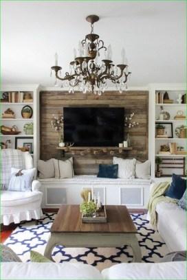 Gorgeous Winter Family Room Design Ideas 31