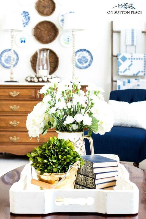 Gorgeous Winter Family Room Design Ideas 43