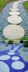 Innovative Stepping Stone Pathway Decor For Your Garden 45