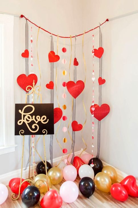 Lovely Backdrop For Valentines Day Photo Booth 30